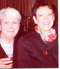 Ruth and Margaret at a Retirement Party
