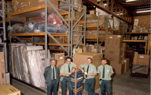 Service partners at the Magnet warehouse Mill Road.