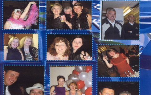 Having a ball at the Robert Sayle closing party 2004