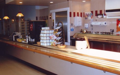 Robert Sayle Partners dining room  servery area