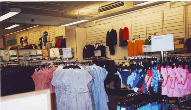 Robert Sayle Childrens wear Department