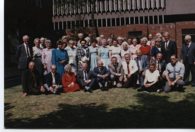 Waterloo Club/25years service Lunch 1989