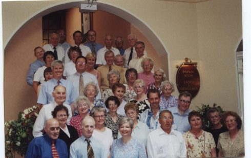 Waterloo/25 years service Club Lunch 2000