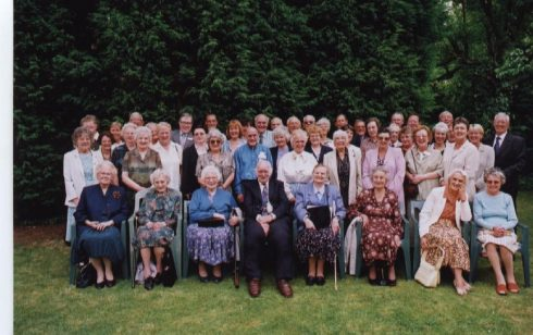 Waterloo Club/25 years service Lunch 2001