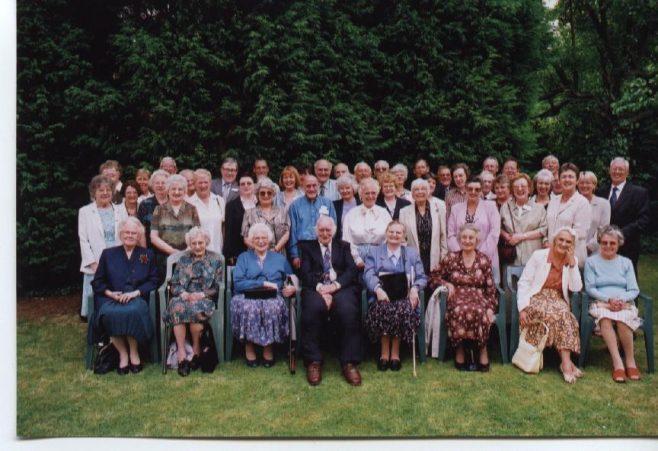 Waterloo Club/25 years service Lunch 2001