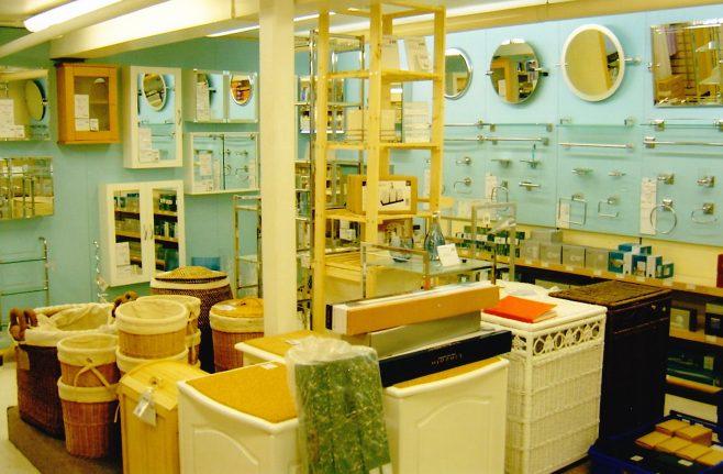 Robert Sayle Bathroom fittings department