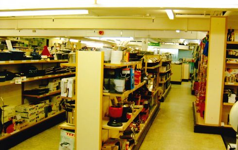 Robert Sayle Kitchenware department
