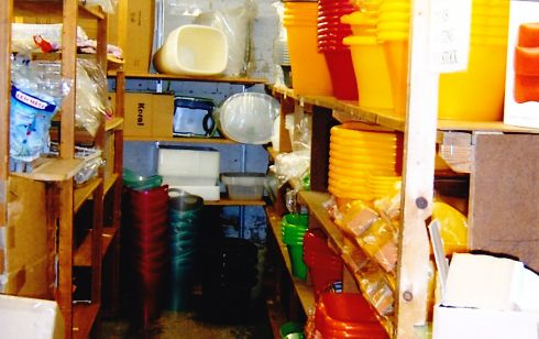 Robert Sayle Kitchenware stockroom