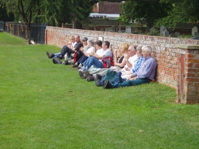 Rambling Club lunch Stop at Flatford Mill
