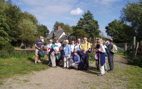 Rambling Sayle Vist to Flatford Mill