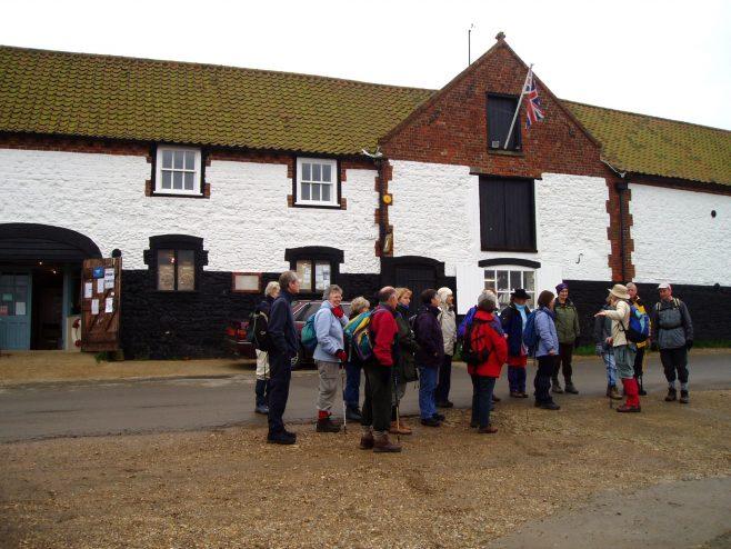 Rambling Club Visit to Burnham Overy Staithe, Norfolk