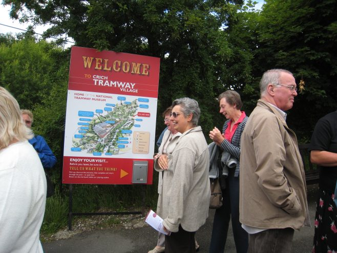 Outing to the tramway museum Julie Start Ruth Pilsworth Kath Childs Ken Jones