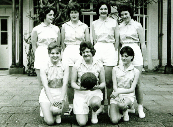 Robert Sayle Netball Team play in a Tournament at The Odney Club
