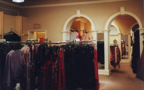 Robert Sayle Fashions on the first floor.