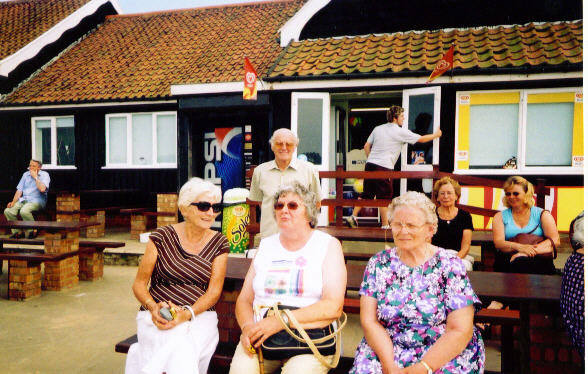 Retirement Partners' Trip To Southwold - Lunch at Dunwich.