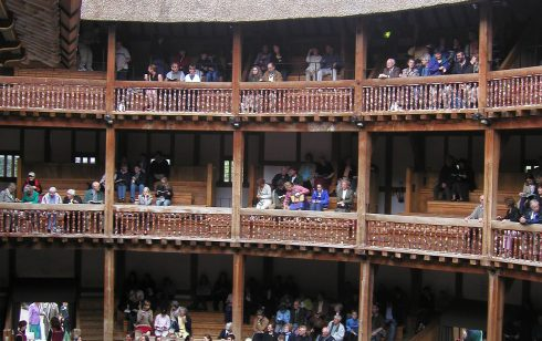 Robert Sayle outing to the Globe Theatre, London