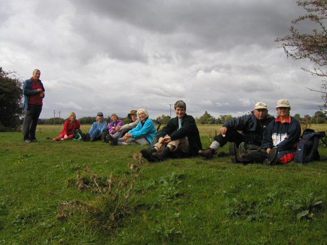 Robert Sayle Rambling Club Huntngdon Walk