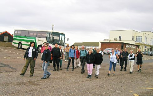 Rambling Club Visit to Southwold