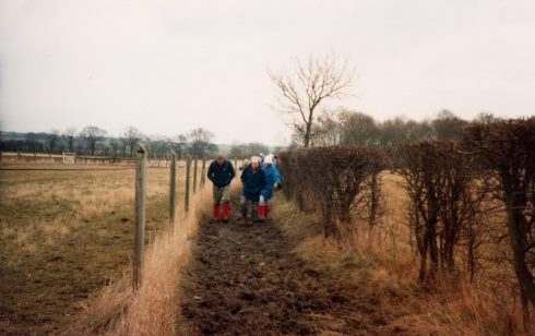 Ist walk of the Robert Sayle Rambling Club