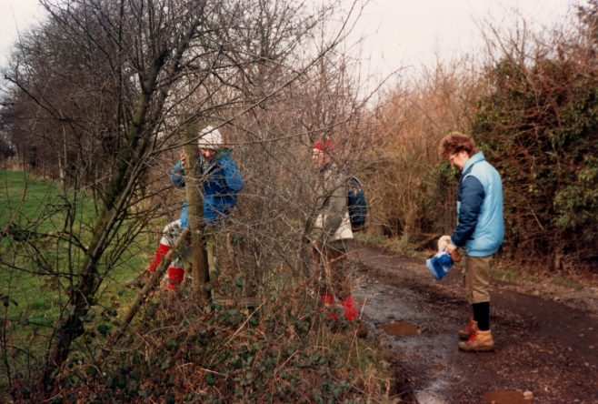 Robert Sayle Rambling Club 1st walk - Toft-Bourn