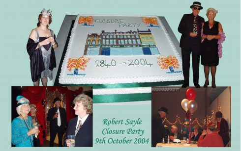Compilation of the Robert  Sayle Closure party