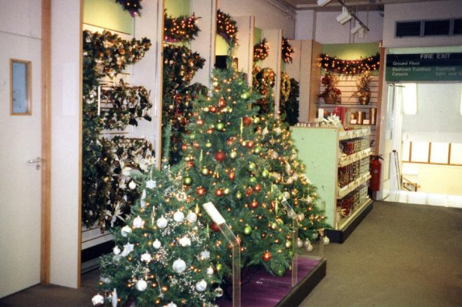Robert Sayle Christmas Stationery on opening day