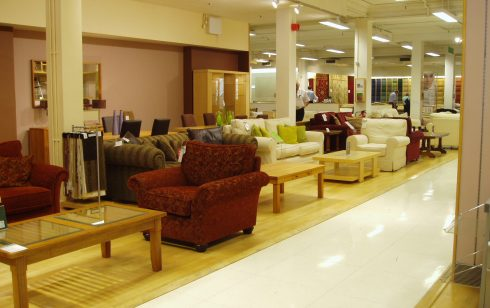 Furniture Department leading to the carpet Department Robert Sayle