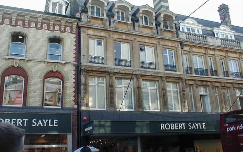 Robert Sayle Frontage in St Andrew's Street Cambridge