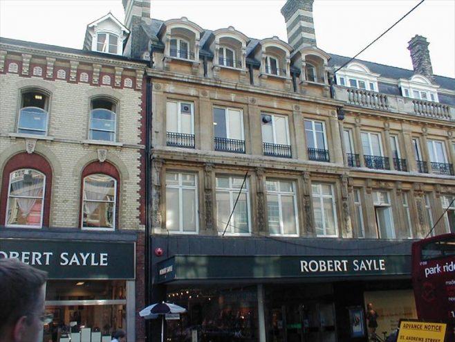 Robert Sayle Store in St Andrews Street, Cambridge