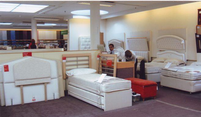 Robert Sayle Beds Department