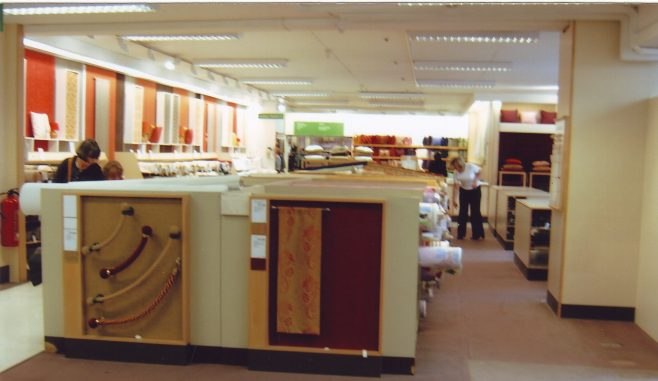 Robert Sayle Soft Furnishing Department