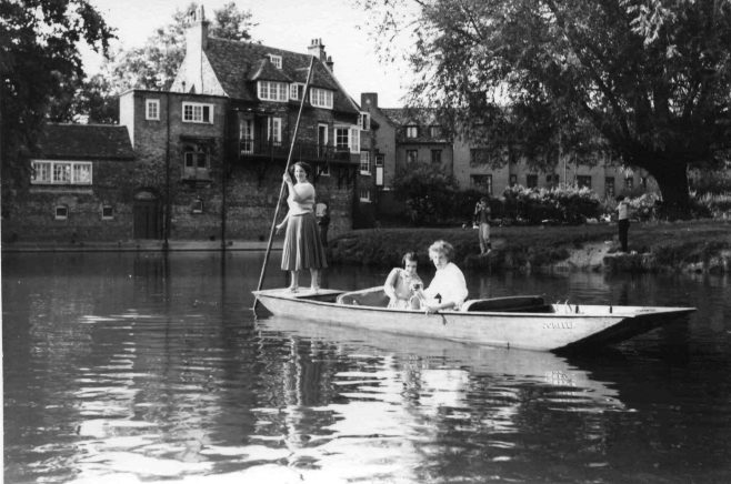 Robert Sayle Boat 'Jonella' on the Backs in Cambridge