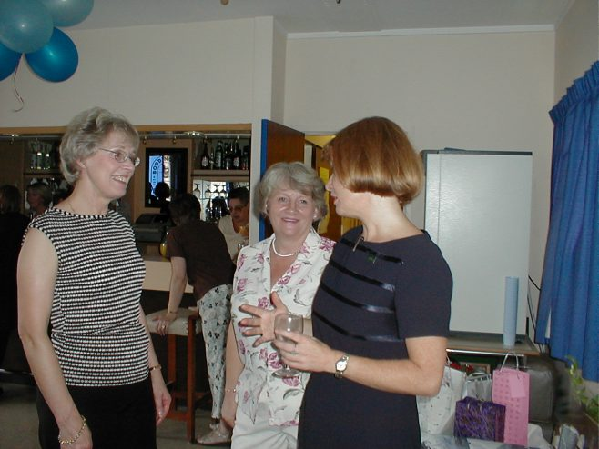 Linda Cox on her Retirement from Robert Sayle.