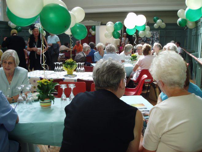 75th Anniversary tea party.