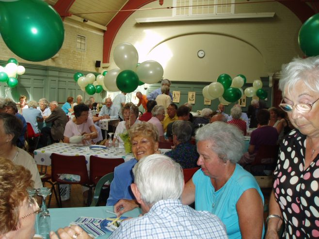 75th Anniversary tea party