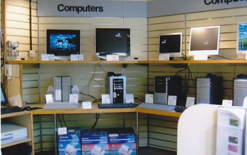 Computer dept at 25 St Andrews street