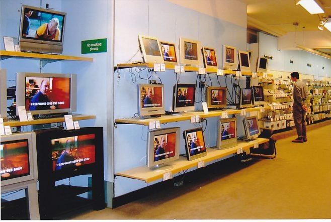 TV dept at 25 St Andrews Street