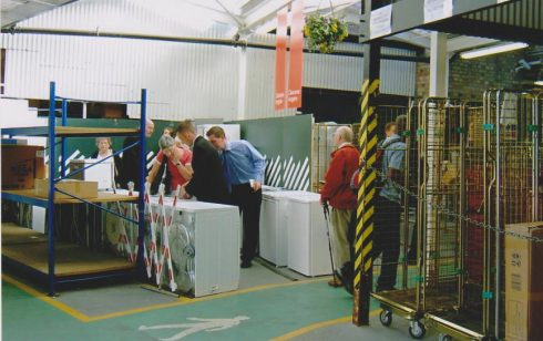 Back of Robert Sayle shop in 2004