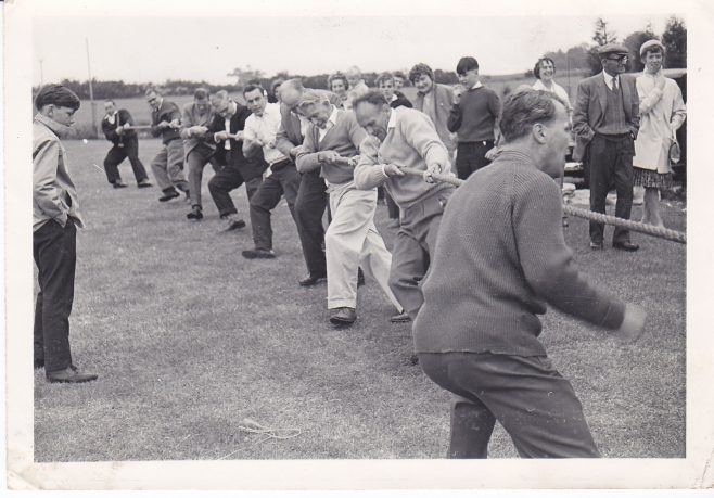 Tug of war event  at Robert Sayle sports day.