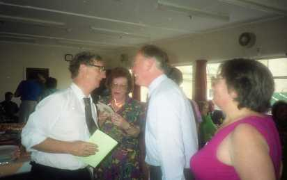 John Phillips with Hilary Fox and Barry Shipp