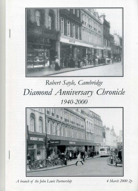 The Diamond Anniversary Chronicle 1940 to 2000