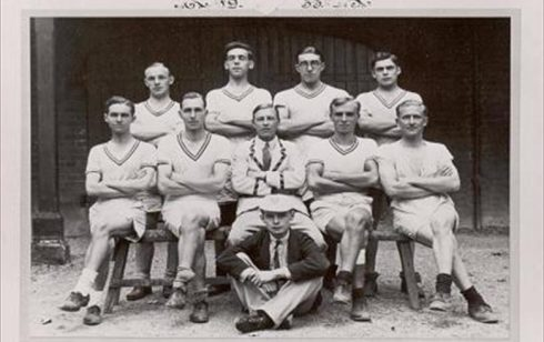 Robert Sayle Victoria Boat Club 1933. First crew