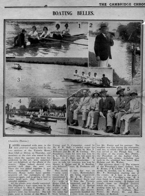 The Cambridge Chronicle 16.06.1929