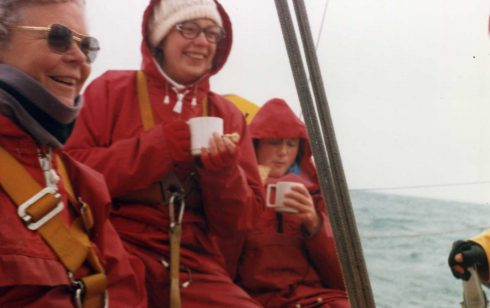 Winter sailing with the Partnership