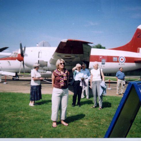 Partners visit Duxford