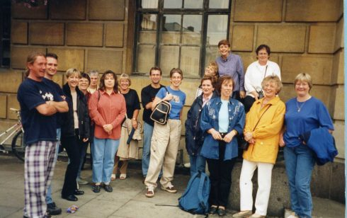 Treasure Hunt around Cambridge 1998