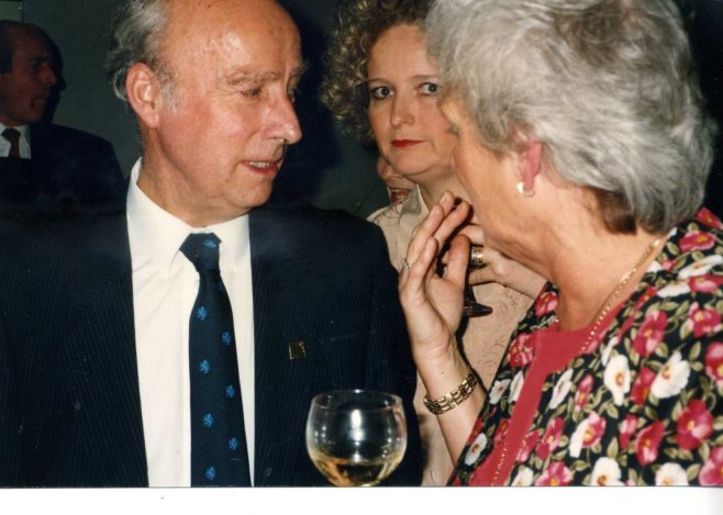 Jim Starr, Janice Wall and Vilma Morgan