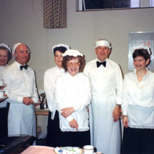 150 years of Robert Sayle and 50 years of joining the Partnership - 1990