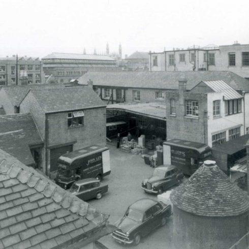 The Backyard before 1970.