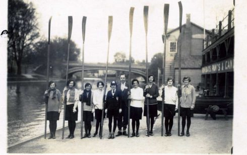 The Victoria House Ladies Rowing Club 1929